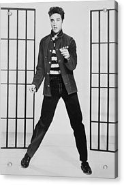 Elvis Presley 1935-1977, Publicity Acrylic Print by Everett