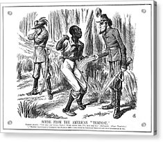 Emancipation Cartoon, 1863 Acrylic Print by Granger