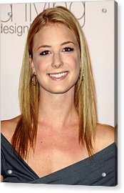 Emily Vancamp At Arrivals For 2009 Acrylic Print by Everett