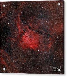 Emission Nebula Ngc 6820 Acrylic Print by Rolf Geissinger
