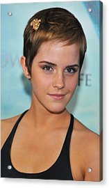 Emma Watson At Arrivals For Harry Acrylic Print by Everett