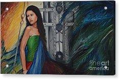 Emotions Acrylic Print by Tanuja Chopra