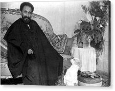 Emperor Haile Selassie, Circa 1930-1935 Acrylic Print by Everett