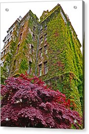 Empress Hotel - Victoria Canada - 02  Acrylic Print by Gregory Dyer