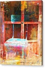 Empty  Acrylic Print by Fania Simon