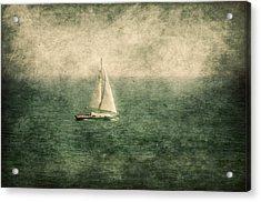 Empty Yacht  Acrylic Print by Svetlana Sewell
