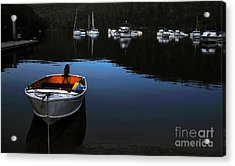 End Of A Beautiful Day Acrylic Print by Kaye Menner