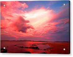 End Of The Day Acrylic Print by Paul Svensen