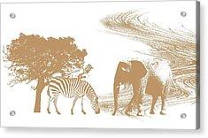 Endangered Acrylic Print by Sharon Lisa Clarke