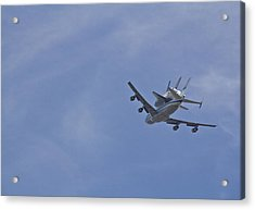 Endeavour's Last Flight Acrylic Print by Molly Heng