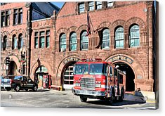 Engine 33 Acrylic Print by JC Findley