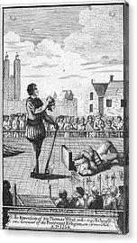 England: Beheading, 1554 Acrylic Print by Granger