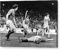 England: Soccer Game, 1977 Acrylic Print by Granger