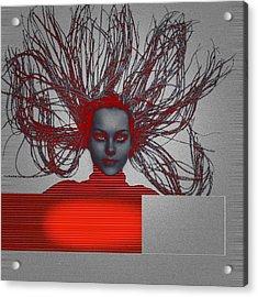 Enlightnment Acrylic Print by Naxart Studio