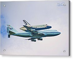 Enterprise 5 Acrylic Print by S Paul Sahm