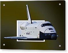 Enterprise Acrylic Print by Lawrence Ott