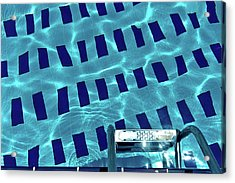 Entrance To Pool Acrylic Print by Daniel Kulinski