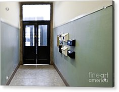 Entryway With Post Boxes Acrylic Print by Eddy Joaquim