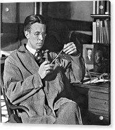 Ernest Orlando Lawrence 1901-1958, Won Acrylic Print by Everett