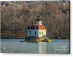Esopus Meadows Lighthouse I Acrylic Print by Clarence Holmes