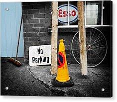 Esso Acrylic Print by Charles Stuart