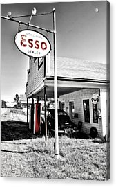 Esso Express Acrylic Print by Chad Tracy