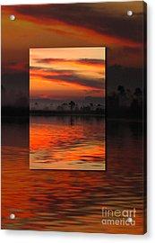 Ethereal Sunrise In Sunrise Acrylic Print by Judee Stalmack