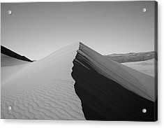Eureka Dunes, Death Valley National Park Acrylic Print by Gary Koutsoubis