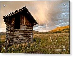 Evening Storm Acrylic Print by Jeff Kolker