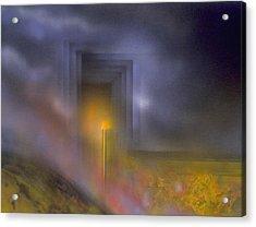 Event Horizon Acrylic Print by Michael Cook