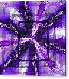 Evolve 3 Acrylic Print by Angelina Vick