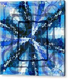 Evolve 5 Acrylic Print by Angelina Vick