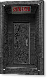 Exit Acrylic Print by JC Photography and Art