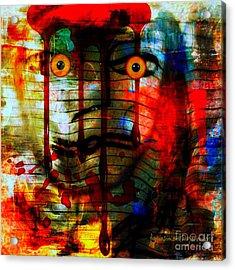 Expectation And Trust Acrylic Print by Fania Simon