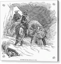 Expulsion Of Jews, 1844 Acrylic Print by Granger