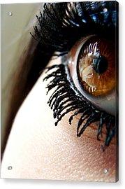 Eye 01 Acrylic Print by Kalie Hoodhood