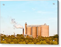 Factory Acrylic Print by Tom Gowanlock
