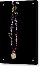 Faith Healing Bracelet Acrylic Print by Joshua Dwyer
