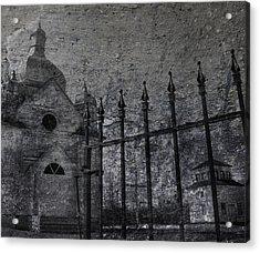 Faith Of Stone  Acrylic Print by Jerry Cordeiro