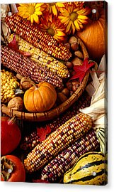 Fall Harvest Acrylic Print by Garry Gay