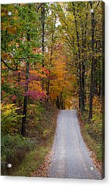 Fall In Southern Indiana Acrylic Print by Melissa Wyatt