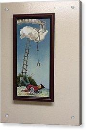 Fallen Angel Acrylic Print by Carlos Rodriguez Yorde