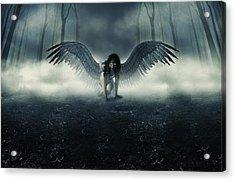 Fallen Angel Acrylic Print by Ryan Shaffer