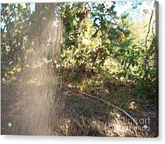 Falling Sand Acrylic Print by Greg Geraci