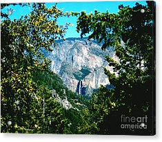 Falls Through The Trees Acrylic Print by The Kepharts
