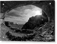 False Kiva Acrylic Print by Keith Kapple