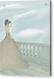Fantasy Bride Acrylic Print by Stacy Parker