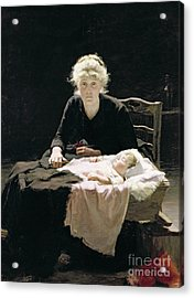 Fantine Acrylic Print by Margaret Hall