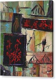 Far East Acrylic Print by Jerry Little