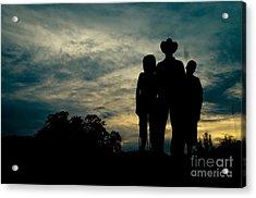 Farmer Family Acrylic Print by Andre Babiak